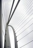 Abstract detail van brug, Moderne architectuur Stock Foto's