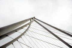 Abstract detail van brug, Moderne architectuur Royalty-vrije Stock Afbeelding
