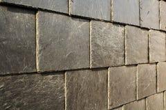 Abstract Detail van de Oude Tegels van het Leidak Royalty-vrije Stock Foto's
