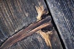 Abstract detail van een oude houten raad Royalty-vrije Stock Fotografie