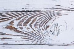 Abstract detail van een witte geschilderde houten raad Royalty-vrije Stock Afbeelding