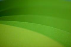 Abstract detail van gegolfte gekleurde document structuur Royalty-vrije Stock Fotografie