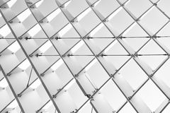 Abstract detail van Metropol-Parasol in Sevilla Royalty-vrije Stock Fotografie