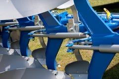 Abstract Detail van Nieuwe Blauwe Landbouw Stock Foto
