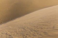 Abstract Detail van Zand duin-Kanarie Eilanden, Spanje Stock Afbeelding