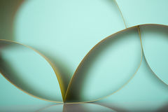 Abstract detail of waved colored paper structure Royalty Free Stock Images