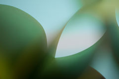 Abstract detail of waved colored paper structure Stock Images