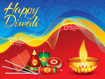 Abstract detailed diwali background Stock Photography