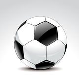 Abstract detailed football Royalty Free Stock Photo