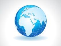 Abstract detailed shiny globe Stock Photo