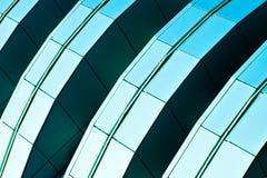 Abstract diagonaal gewas van wolkenkrabber Royalty-vrije Stock Afbeelding