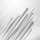 Abstract diagonal arrows. Abstract business background with grayscale arrows Royalty Free Stock Image