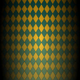 Abstract diagonal checkered pattern. Yellow-green vector geometric background Royalty Free Stock Photo