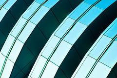 Abstract diagonal crop of skyscraper Royalty Free Stock Image