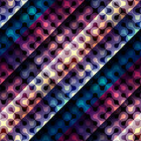 Abstract diagonal geometric pattern with droplet Royalty Free Stock Images