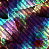Abstract diagonal geometric pattern Stock Photography