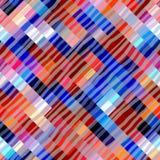Abstract diagonal geometric pattern Stock Photo
