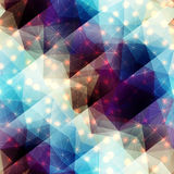 Abstract diagonal geometric pattern Stock Photo