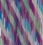 Abstract diagonal ornament of strokes Stock Image