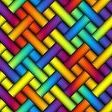 Abstract diagonal plaid background Stock Photos