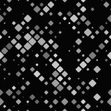 Abstract diagonal rounded square pattern - vector tile mosaic background graphic Royalty Free Stock Image