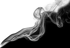 Abstract diagonal smoke wave Stock Photo