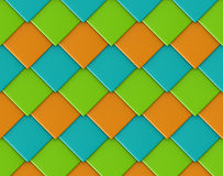 Scale diagonal square diamond shape tile backdrop Royalty Free Stock Photos