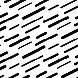 Abstract diagonal sticks seamless vector pattern. Black and white simple shapes background for website wallpaper Stock Photo