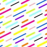 Abstract diagonal sticks seamless vector pattern. Stock Photos
