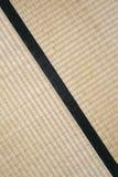 Abstract diagonal tatami. Japanese tatami mat texture-diagonal detail Stock Photos
