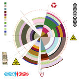 Abstract diagram Stock Images
