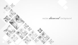 Abstract diamond background Stock Images