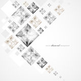 Abstract diamond background Royalty Free Stock Images