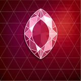 Abstract diamond background Royalty Free Stock Photo