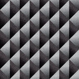 Abstract diamond pattern - seamless background - leather texture Stock Photos