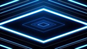 Abstract Diamond Vortex Loop Background stock video