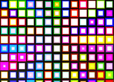 Abstract Diamonds Colorful Cubes concept of texture background wallpaper Royalty Free Stock Images