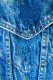Abstract dicht omhooggaand denim Stock Foto's