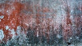 Abstract die achtergrond en textuur van roest, bruin, rood met witte en grijze vlekken wordt gemengd Het horizontale kader Royalty-vrije Stock Afbeelding