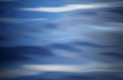 Abstract die beeld door golven op het water wordt gecreeerd Stock Afbeelding
