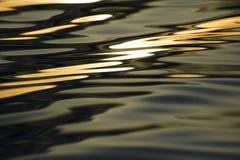 Abstract die beeld door golven wordt gecreeerd Stock Foto's