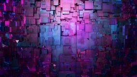 Abstract digital architecture background. Microchip technology 3D illustration Stock Photos