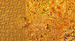 Abstract digital art background Stock Image