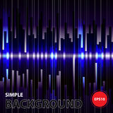 Abstract digital bacground.Motion blue vertical lines.vector equ. Alizer Royalty Free Stock Photo