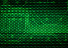 Abstract digital background. Dark green abstract digital background Royalty Free Stock Images