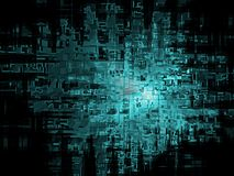 Abstract digital background Stock Photos