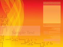 Abstract digital background Royalty Free Stock Photography