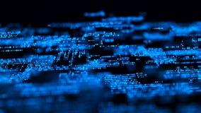 Free Abstract Digital Background. Big Data Code Matrix. 3d Rendering Royalty Free Stock Photo - 160584815