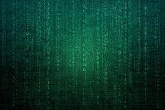 Abstract digital background with binary code. Hackers, darknet, virtual reality and science fiction. Abstract digital background with binary code. Hackers vector illustration