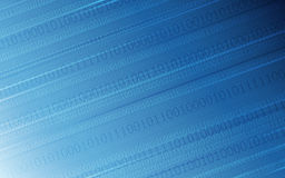 Abstract digital background with binary code pattern on dark blue color. Digital background with binary code pattern on dark blue color Stock Image